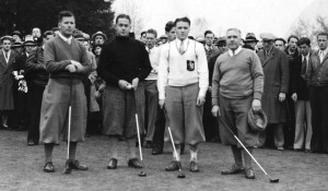 Don Sutherland, Bobby Jones, Ken and Davie Black