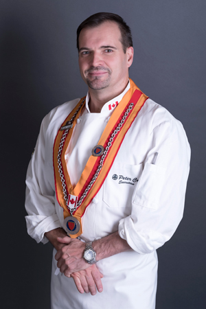 Executive Chef, Peter Crook