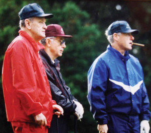 Jean Chretien, Bruce Murray and Bill Clinton